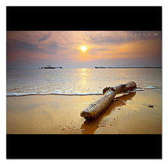 Once upon a time (SHAZRAL) Tags: sunset sea seascape beach composition canon eos photo amazing laut group wide malaysia filters pantai portdickson the uwa cokin tokina1224mmf4 p121 leparis 450d theperfectphotographer azralfikri shazral sailsevenseas