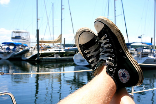 Relaxing in Rhode Island
