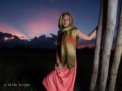 Joan Boro Filipina Sunset (alvinj88) Tags: cleevillasor alvinjasonarzaga philcalumpang erorlavistecusap joanboro