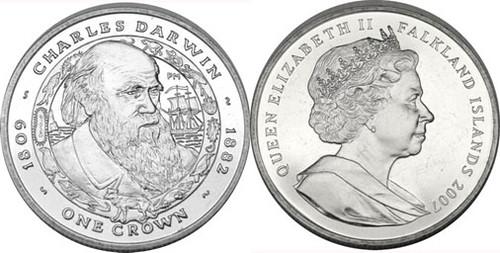 Falklands 1 Crown Darwin