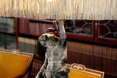 Huculean Lamp (a_phoenix_rain) Tags: lamp fringe rochester rochesterny maleform georgeeastmanhouse eastmanhouse