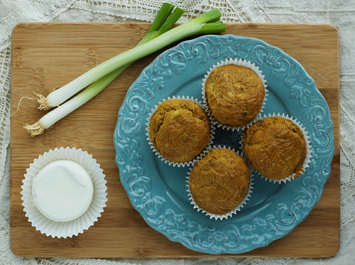 Goats cheese muffins