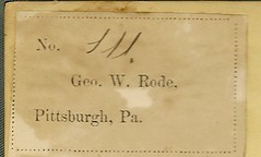 George W. Rode bookplate