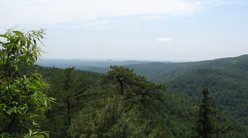 Panorama from Chestnut Knob overlook