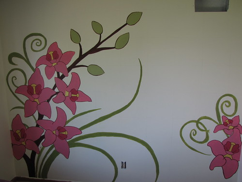 How To Paint a Wall Mural momspark.net