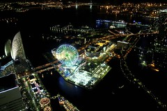 Beautiful night (Edu M.K.) Tags: japan yokohama kanagawa nocturne landmarktower skygarden minatomirai21  tamronspaf1750mmf28xrdiiivcldaspherical