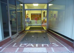Decatur, IL terrazzo entrance (army.arch) Tags: illinois downtown entrance il decatur terrazzo leath