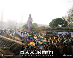 [Poster for Rajneeti]