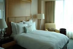 Our Deluxe room with two Queen beds (Stephanie Serino) Tags: deluxeroom ritzcarltontoronto