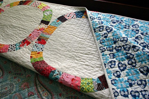 Single Girl Quilt - backing
