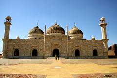 Derawar Fort Mosque (uihsan) Tags: old stone mugal derawar derawarfortmosque