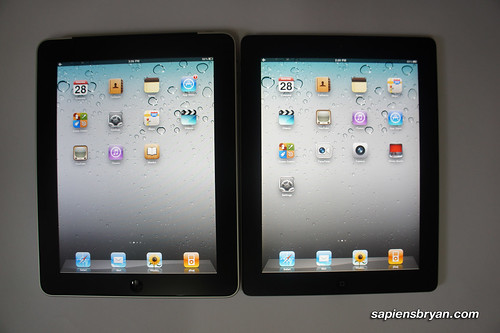 Front View Of iPad & iPad 2