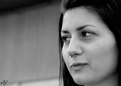Marti (LaKry*) Tags: portrait blackandwhite girl look grey blackwhite grigio sguardo ritratto marti arcadia biancoenero ragazza centrosociale spazioautogestito csaarcadia
