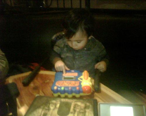 Benji playing
