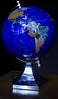 Geology + Cartography = Gemstone Globe