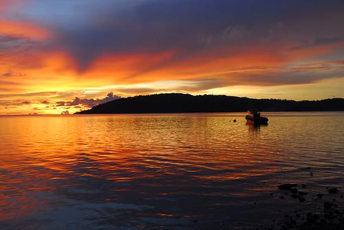 Sunset in Kota Kinabalu