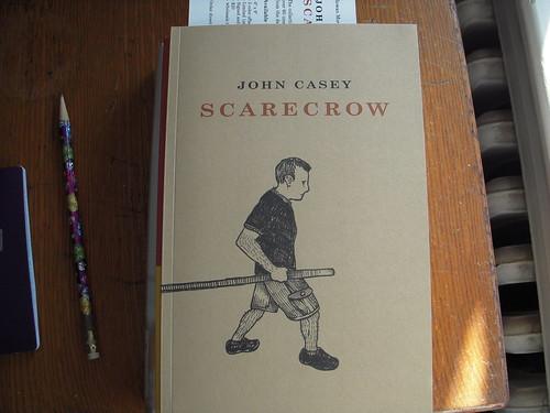 John Casey, Scarcrow, book cover