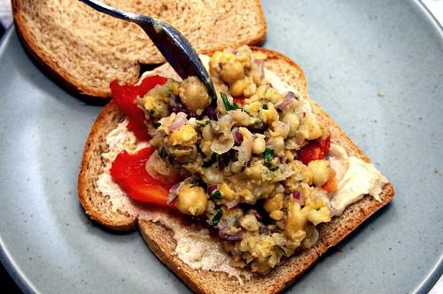 smashed chickpea salad | smitten kitchen