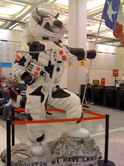 JW / Blog: Cow Astronaut In IAH