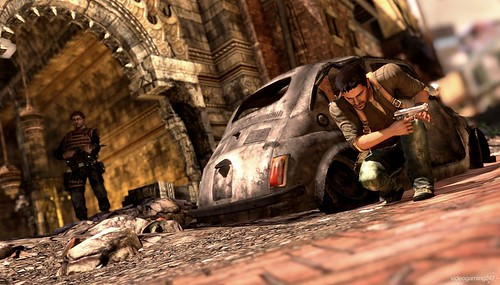 Uncharted 2 Among Thieves persecución