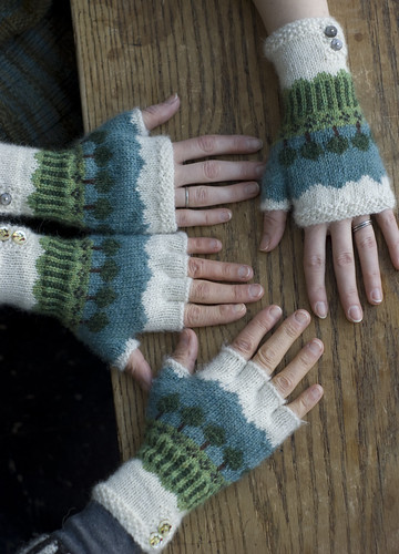 Rainy Day Fingerless Gloves