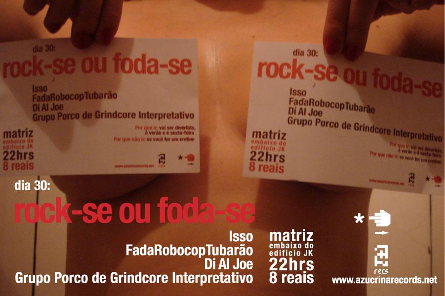 Rock-se ou foda-se with peitinhos