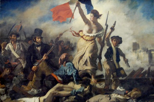 Louvre - Liberty Guiding the People - Delacroix by WVJazzman.