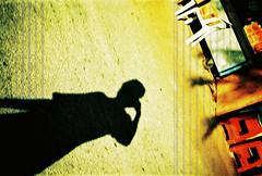 Don't U feel my shadow looks like a shadow of me? (by + H i n z)