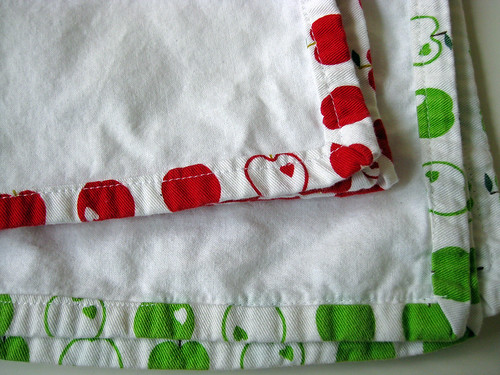Apple Cloth Napkins