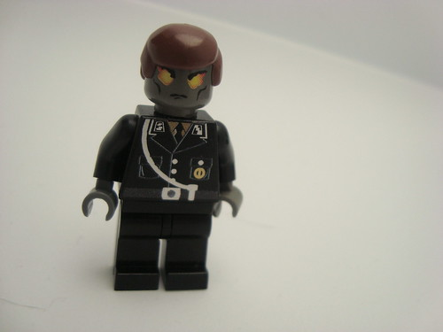 The Nazi Zombie soldier custom minifig
