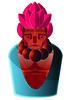AKUMA TRADITIONAL (Jonny_Wan) Tags: street urban streetart illustration grafitti shapes illustrator vector streetfighter capcom gradients dontpanic akuma characterdesign roughsketches lyleandscott contemporaryillustration jonnywan akumaillustration akumadrawing