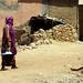 A woman in Somalia