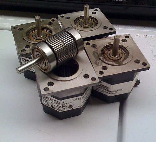 Powermax II Stepper Motors