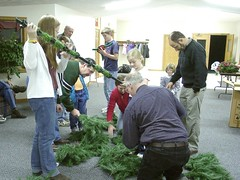Decorating Christmas 2004 15 (Douglas Coulter) Tags: 2004 christmasdecorations mbc mortonbiblechurch