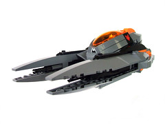 Nightfox pursuit fighter front 3/4 (wunztwice) Tags: night fighter ship lego space fox landinggear scifi spaceship windshield canopy windscreen technique pursuit nightfox starfighter spacefighter legospace legospaceship legotechnique legoscifi legostarfighter