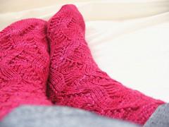 (*meaghan*) Tags: socks knitting knitty springforward