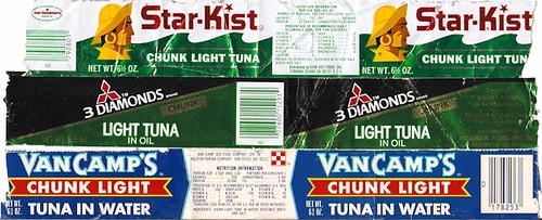 Tuna fish can label - photo#2