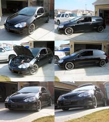 Honda Civic Si - RSX Headlight Conversion (aar0on) Tags: honda project civic headlight modification acura types civicsi