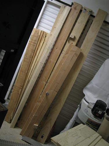 free lumber I picked up late at night in an alley