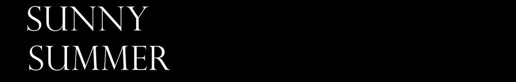 sunnysummer