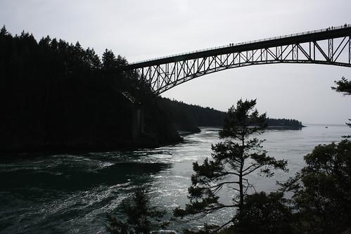 Below the Deception Pass Bridge