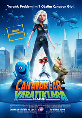 Canavarlar Yaratıklara Karşı / Monsters vs. Aliens (2009)