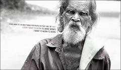 don't want to do nice things for people... (saiju sreedharan) Tags: world life people india man kerala sick cochin workingman sonydsch7 saijusreedharan