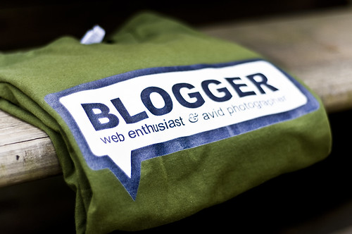 Blogger Tee by Jorge Quinteros, on Flickr