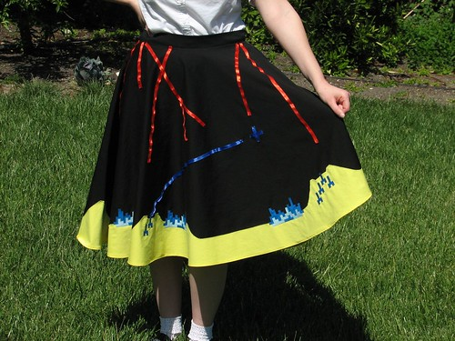 Missile Command Skirt 24