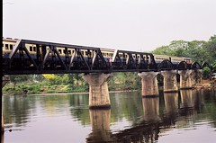 Thailand - Bridge on the River Kwai - 2001 (3) (Smulan77) Tags: river thailand kwai