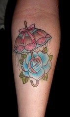 umbrella rose (ryanmason) Tags: rose tattoo umbrella portland vegan arm ryan mason tattoos scapegoat ryanmason