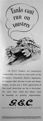 Tanks can't run on toasters