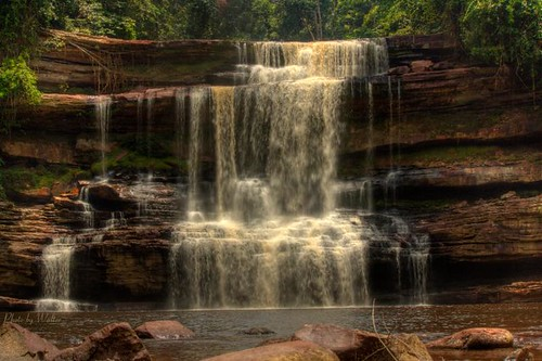Maliau Basin Waterfall