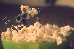 Popcorn Night! (Boy_Wonder) Tags: toy disney pixar popcorn walle